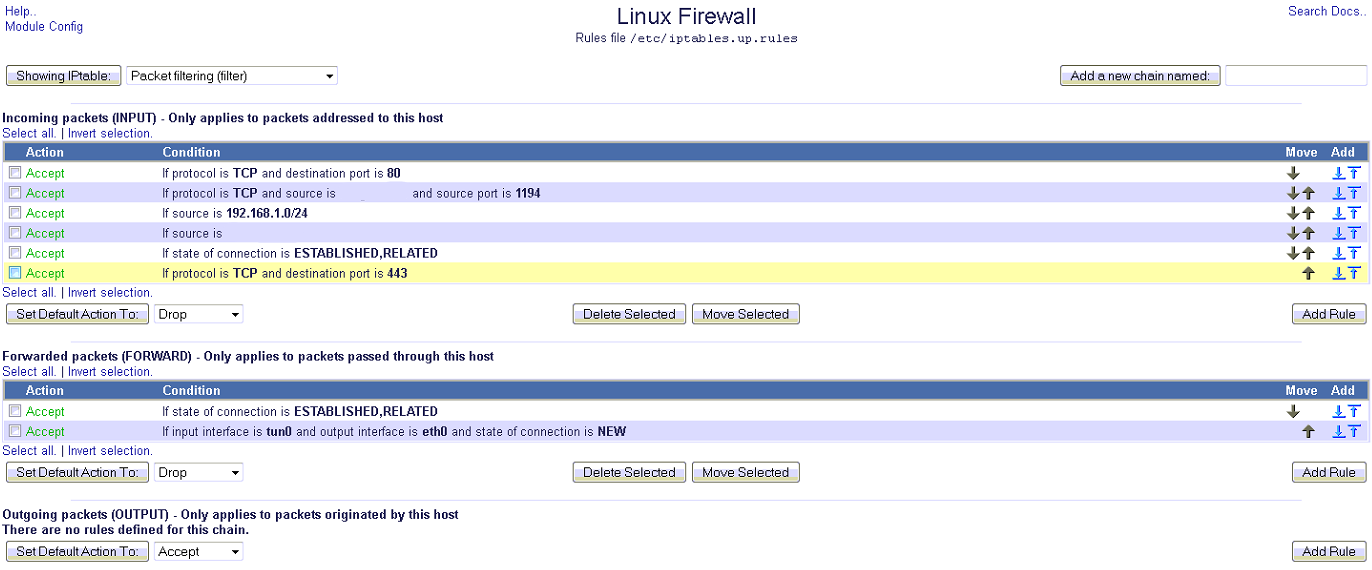 Note to Self » OpenVPN client on Ubuntu Server – Firewall rules